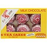 Tunnock's 6 Milk Chocolate Tea Cakes (Pack of 12)