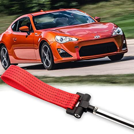 Amazon.com: Xotic Tech Red JDM Style Tow Hole Adapter with ...