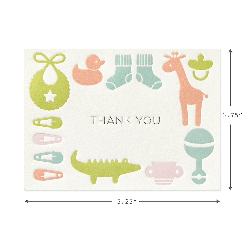 Amazon.com: Hallmark - Tarjetas de agradecimiento para bebé ...