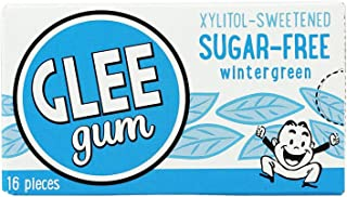 product image for GLEE Gum, Chewing Gum, WINTERGRN, SF - Pack of 12