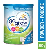 Similac Go & Grow By Similac Step 3 Toddler Drink, Powder, 850g, 12-36 Months, Milk Flavour, Blue