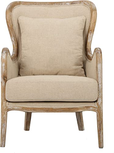 Cheap Christopher Knight Home Crenshaw Fabric Wing Chair living room chair for sale