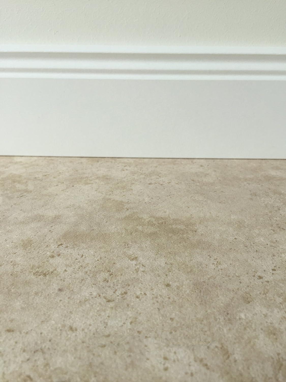 PVC-Bodenbelag in mediterraner Holzoptik Hell Fu/ßbodenheizung geeignet Strukturierte Oberfl/äche Vinylboden in 4m Breite /& 5m L/änge Made in Germany pflegeleichte Planken f/ür den Wohnbereich