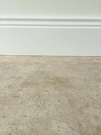 Pvc Bodenbelag In Klassischer Marmoroptik Hell Muster Fussboden