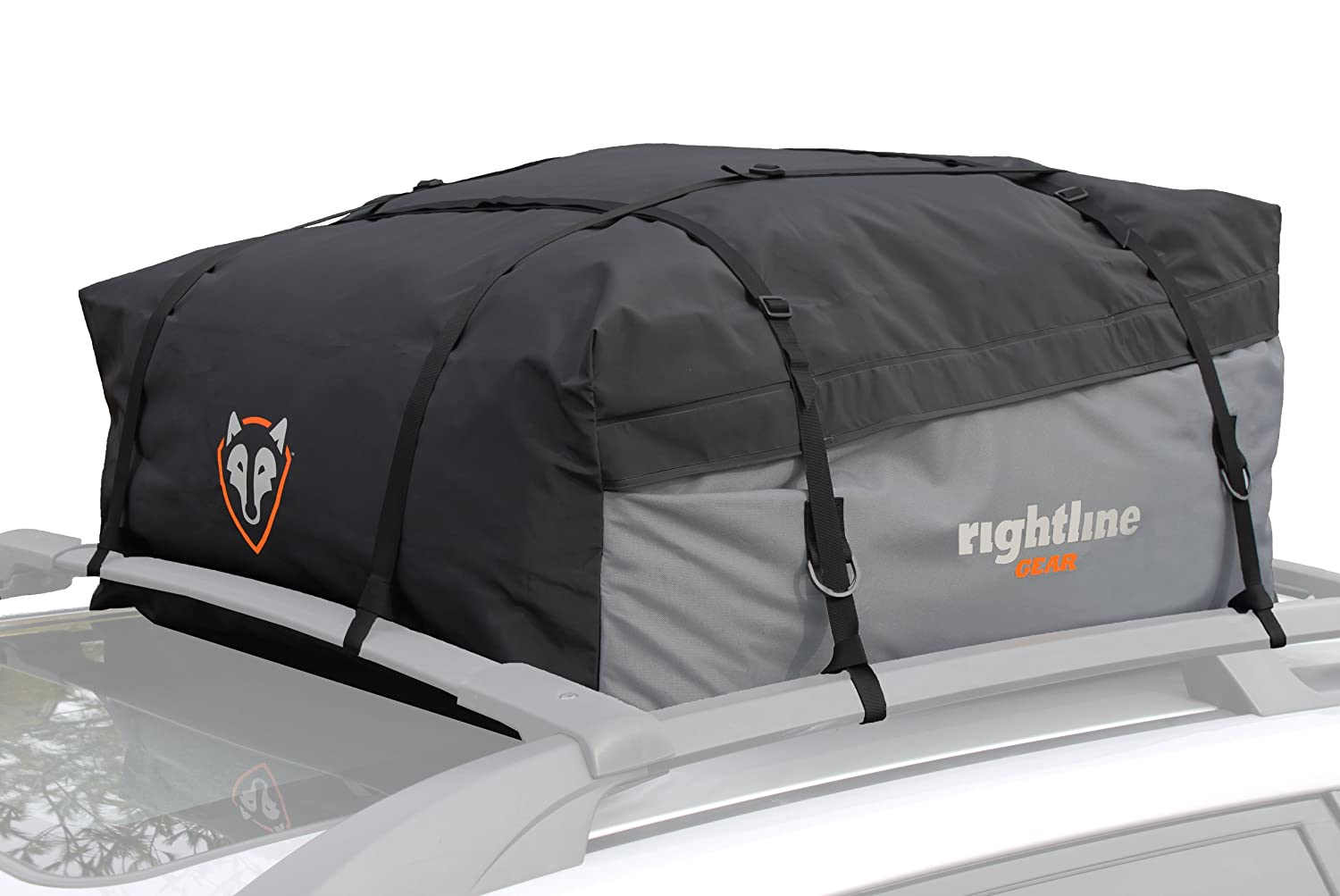 Amazon.com: Rightline Gear 100S10 Sport 1 Car Top Carrier, 12 Cu Ft,  Waterproof, Attaches With Or Without Roof Rack: Automotive