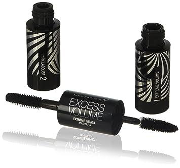 Amazon.com : Max Factor Excess Volume Extreme Impact Mascara, Black : Beauty