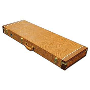 360201e795 Spider Rectangular Electric Hard Guitar Flight Case With Brown Crocodile  Finish: Amazon.co.uk: Musical Instruments