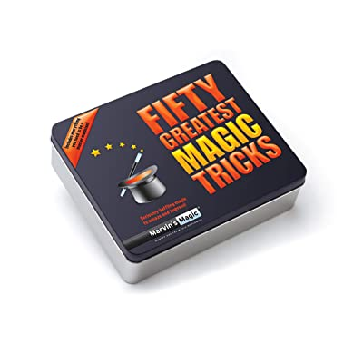 Marvin magique de Cinquante Plus grands tours de magie Set. professionnel magique en toute simplicité