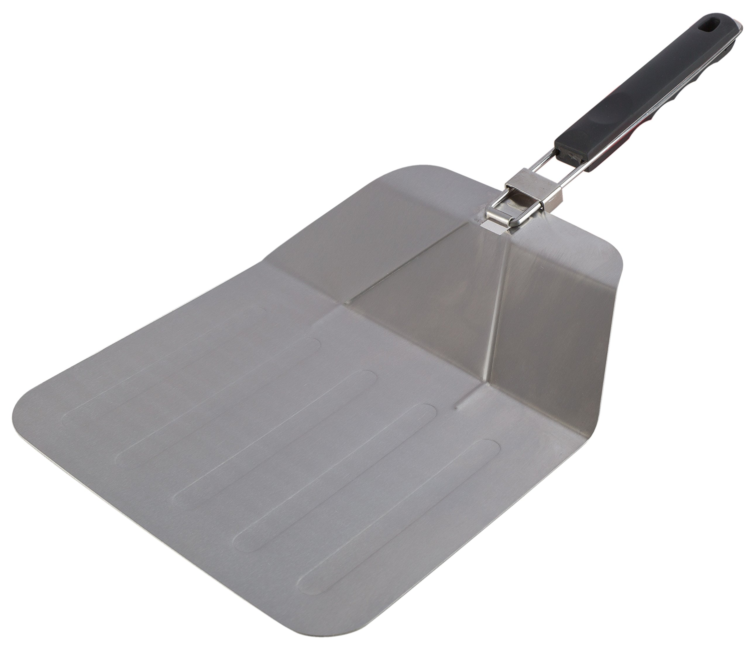 Kitchen Winners Stainless Steel Pizza Peel With Folding Handle.