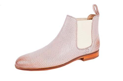 MELVIN & HAMILTON Damen Susan 10 Chelsea Boots Rosa