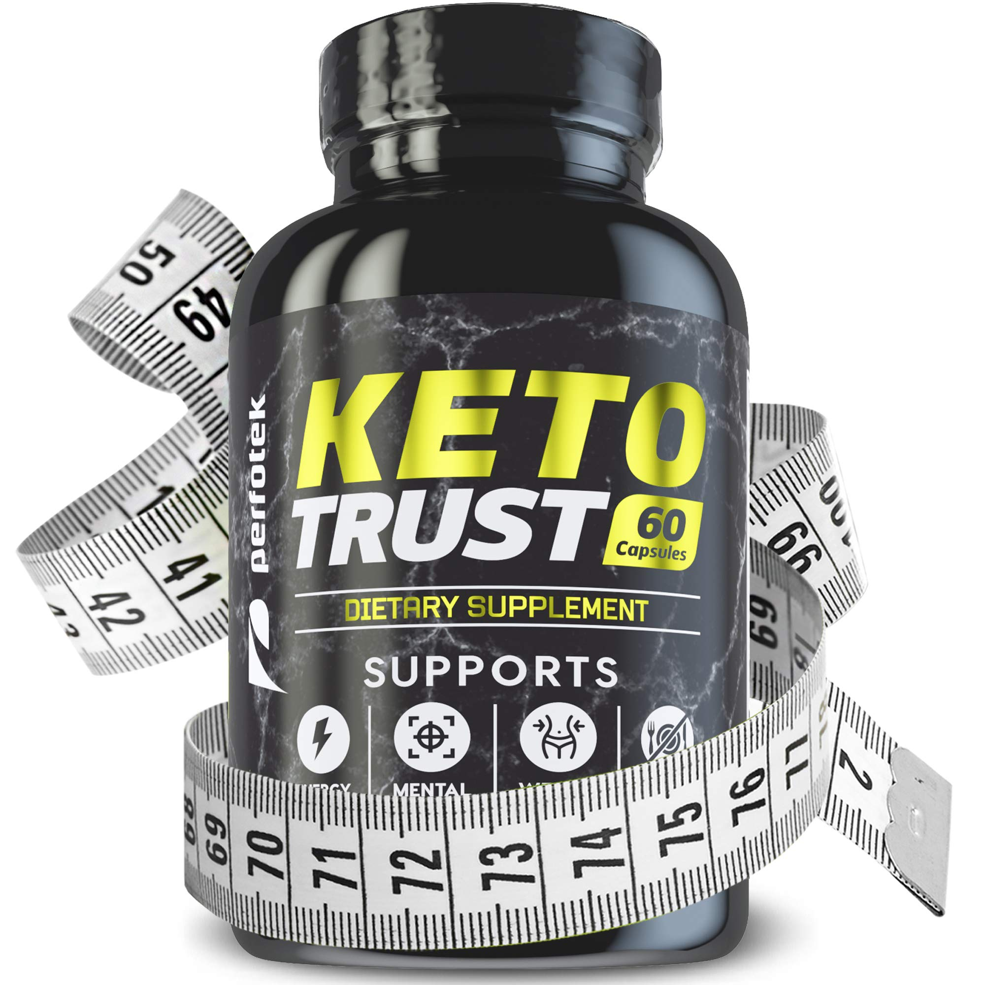 Keto Diet Pills Weight Loss Supplement Fat Burner Advanced Extract Formula - Garcinia Cambogia - Raspberry Ketones, Green Coffee Bean, Green Tea All Natural, Ketogenic Diet for Women and Men, 1600 mg