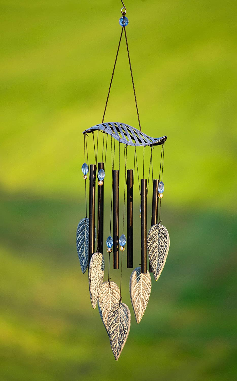 VP Home Forest Leaves Outdoor Garden Decor Wind Chime