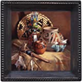 Thirstystone Ambiance Coaster Set, Treasures From The Past, Multicolored
