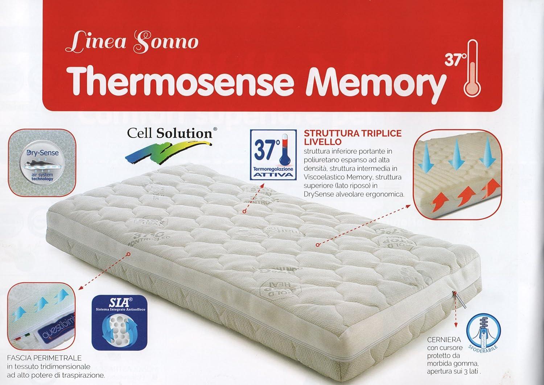 MAXIOCCASIONI Colchón Cuna, thermosense Memory, 60 x 120 x 12 cm de questibimbi®: Amazon.es: Hogar