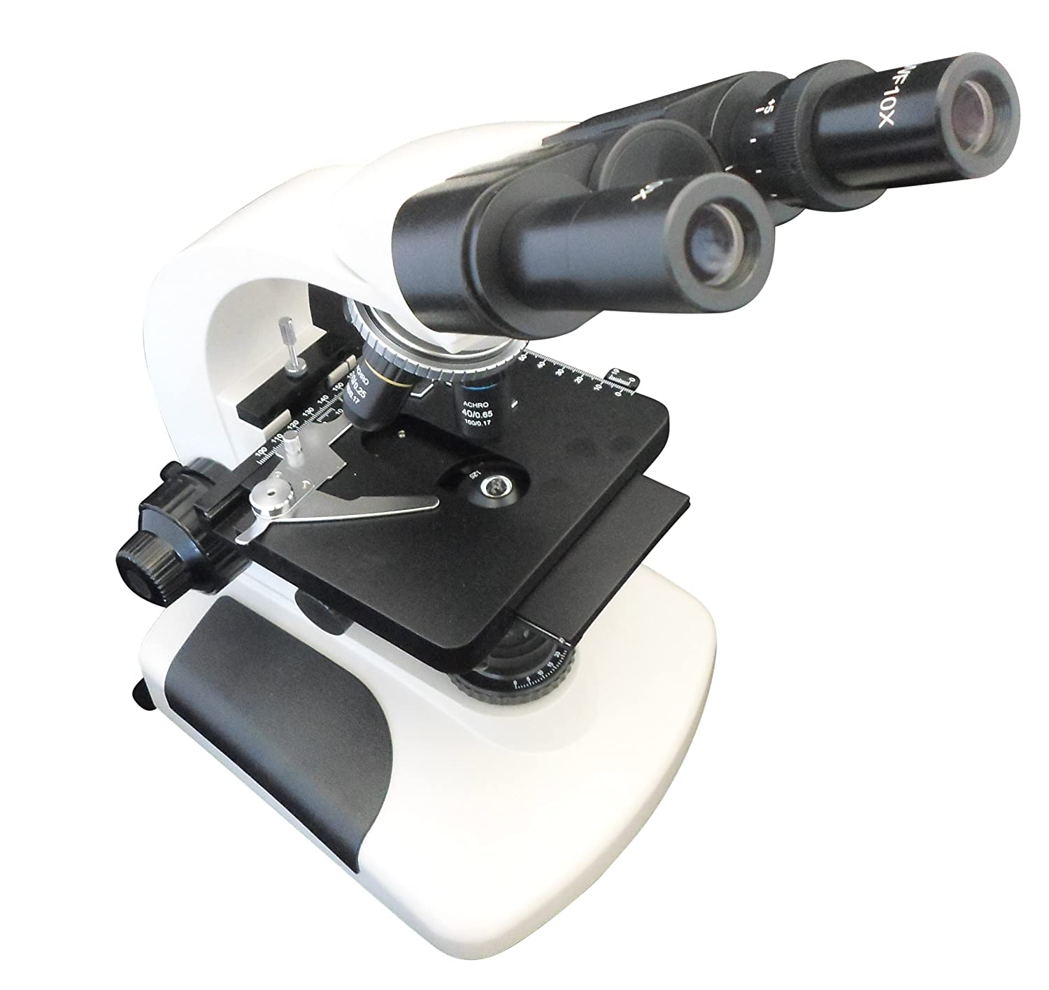 Image of Ajax Scientific Binocular Microscope, 40-1600X Magnification