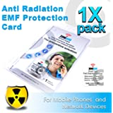 Anti Radiation EMF Protection Card for Mobile Phones and Network Devices | Gray ZONE030 Smart Card by IIREC (1 pack) (Gray, 1 Pack)