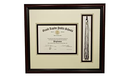 Amazon.com - High School Graduation Certificate Document 6x8 with ...