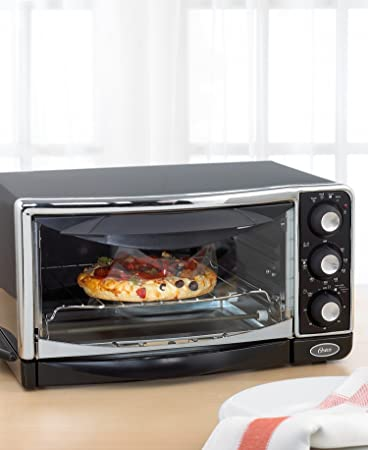Amazon Oster 6290 6 Slice Toaster Oven Black Continuous