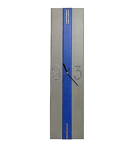 Reloj de Pared moderno. Reloj de cocina, sala de estar u oficina. Reloj de madera. Fabricación Artesanal en España. Decora tu hogar con relojes de pared exclusivos, regalo original.: Amazon.es: Handmade