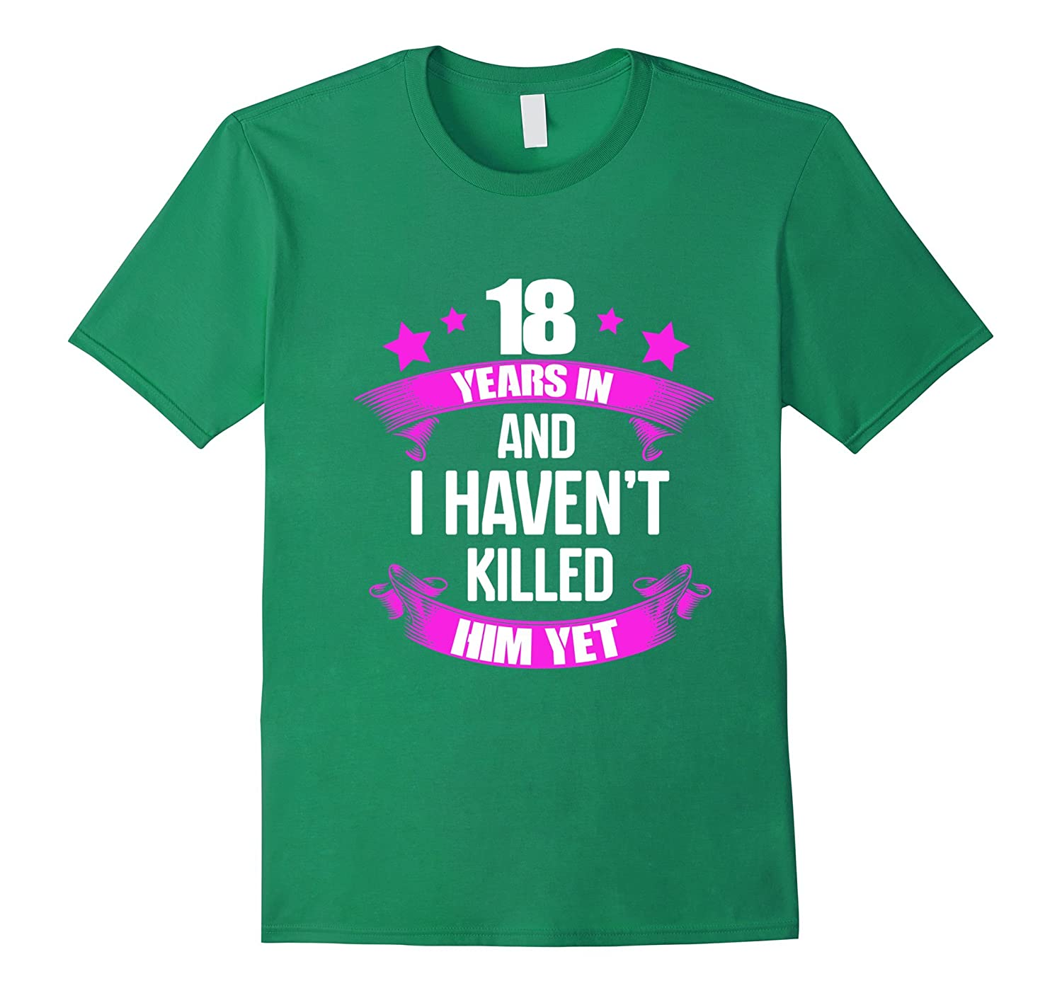 Gifts For 18th Wedding Anniversary: 18th Wedding Anniversary T-Shirt For Wife Funny Gifts