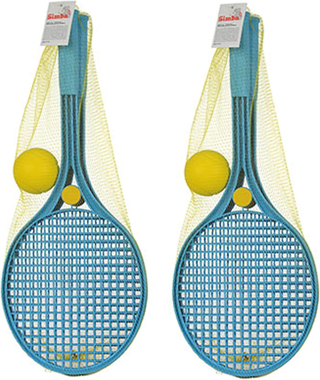 Blau, 2X Softball-Tennis Androni Giocattoli Softballtennis Softball