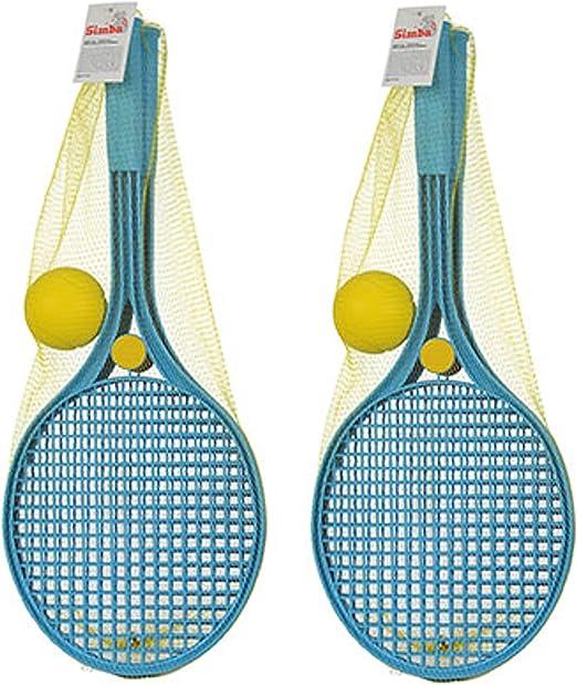 Androni Giocattoli Softball - Pelota de Tenis, Azul, 2X Softball ...
