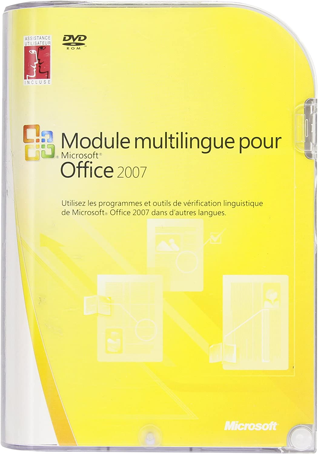 Microsoft Office Multi-Language Pack 2007 - Complete package - 1 PC - DVD - Win - French - Suites de programas (1 usuario(s), Full): Amazon.es: Software
