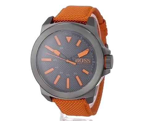 852cc80adf5a Hugo Boss Reloj para Hombre Caratula Negra  Hugo Boss  Amazon.com.mx   Relojes