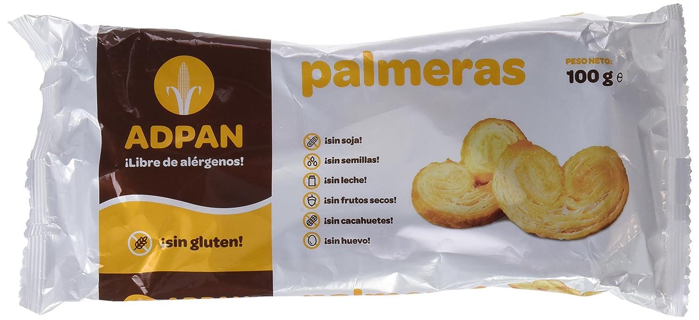 Adpan Palmeras - 4 Paquetes de 100 gr - Total: 400 gr - sin ...