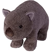 "Wild Republic Wombat, Stuffed Animal, Plush Toy, Gifts for Kids, Cuddlekins, 12"" (18037)"