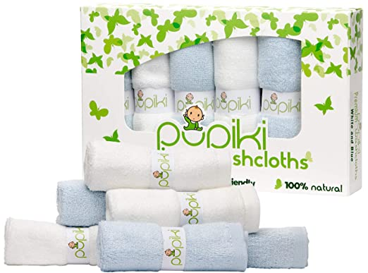 Pupiki Soft Baby Washcloths
