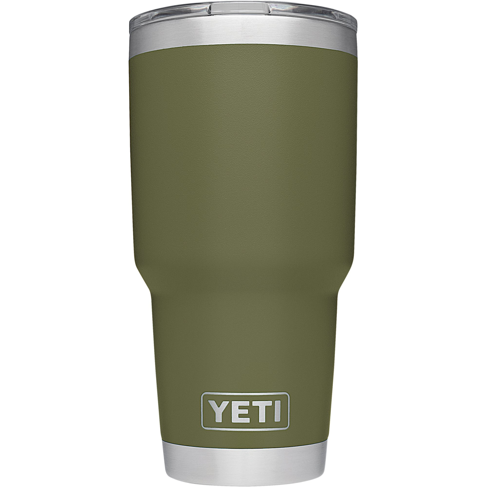 YETI Rambler Stainless Steel Vacuum Insulated Tumbler with Lid, Olive, 30 oz.