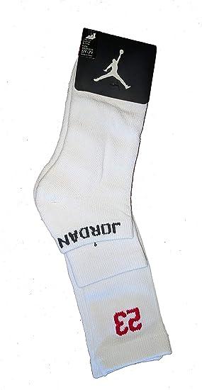 96ba63d31fca6 Amazon.com: Nike Air Jordan 3 Pack Athletic Low Cut Ankle Crew Socks ...