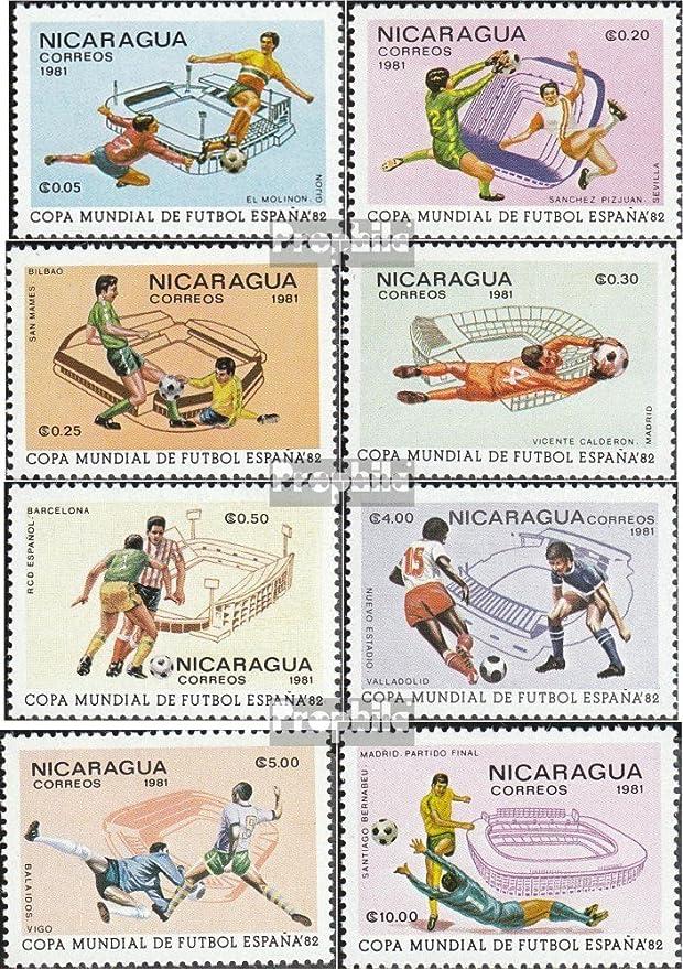 Prophila Collection Nicaragua 2182-2189 (Completa.edición.) 1981 ...