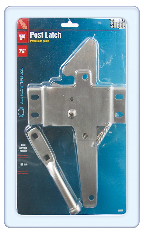 Stainless Steel Ultra Hardware 35929 Post Latch Heavy Duty SS