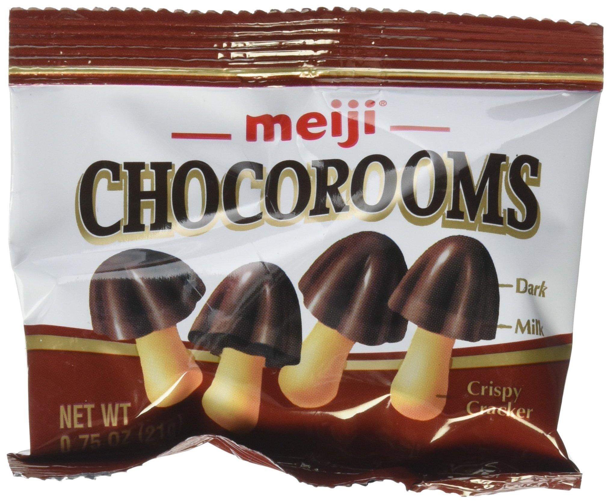 Meiji Chocorooms 24 individual 21g bags by Meiji
