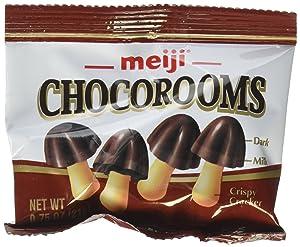 Meiji Chocorooms 24 individual 21g bags