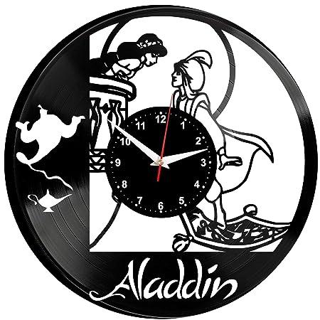 EVEVO Alladin Reloj De Pared Vintage Diseño Moderno Reloj De ...