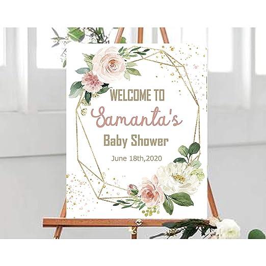Dozili - Cartel de Bienvenida para Baby Shower, decoración ...