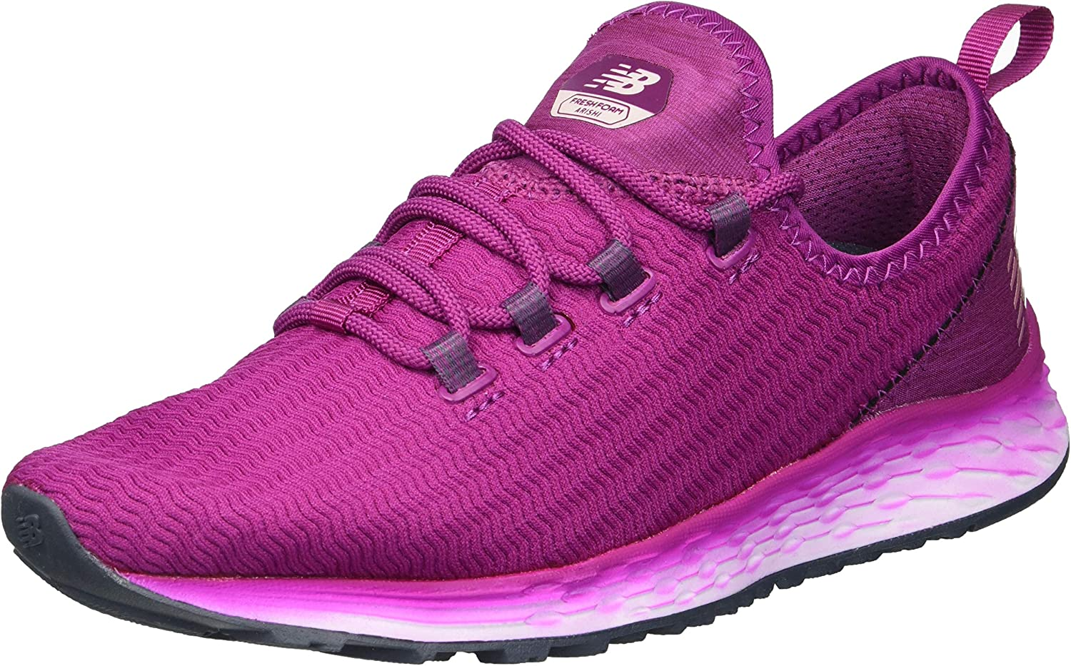 New Balance Women s Arishi v1 Fresh Foam Running Shoe, Mulberry,