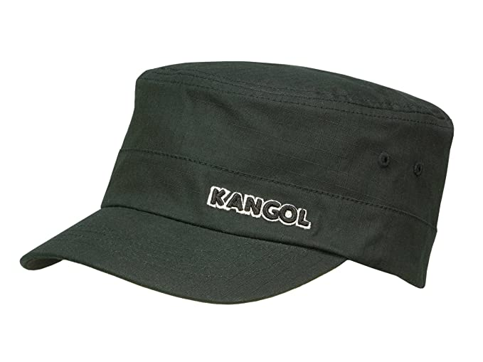 Kangol Men s Army Cap Ripstop Army Cap - black  Amazon.co.uk  Clothing 6a5c58dfba9