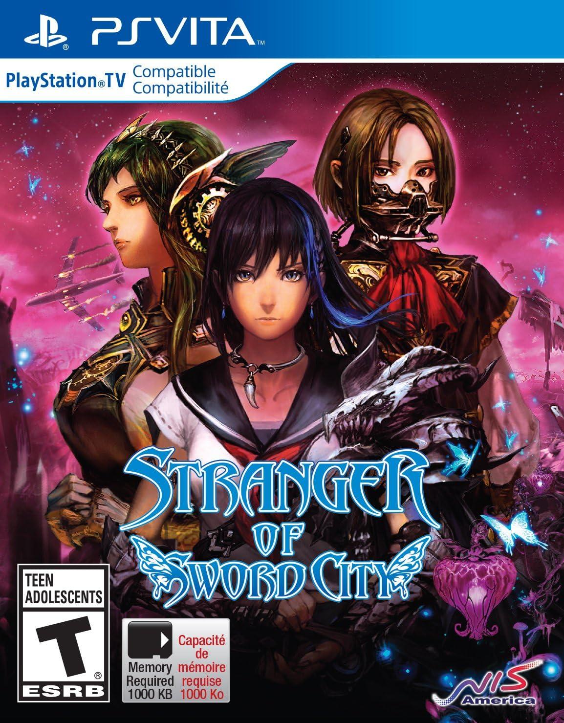 Amazon.com: Stranger of Sword City - PlayStation Vita: Atlus ...