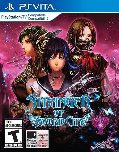 Atlus Stranger of Sword City, PS Vita Básico PlayStation ...