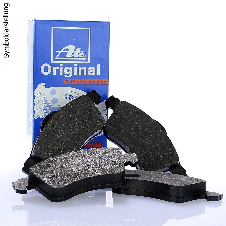 Original ATE Bremsscheiben vorne ATE Bremsbel/äge Bremskl/ötze Bremsenset Bremsenkit Komplettset Vorderachse