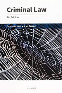 criminal law 6th edition jones and taggart