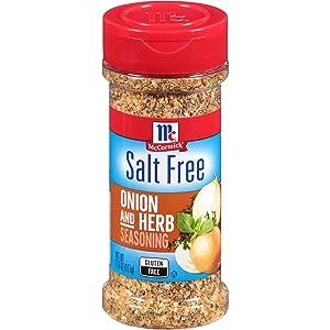 McCormick Salt Free Onion and Herb Seasoning, 4.16 oz