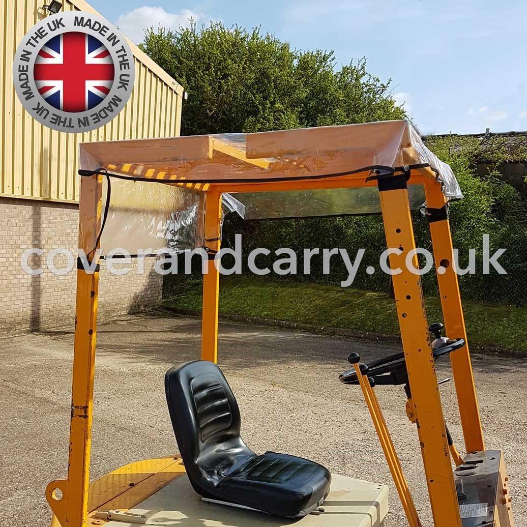 Chariot /él/évateur Housse de pluie Panneau de toit 132,1/x 124,5/cm avec fermetures r/églable