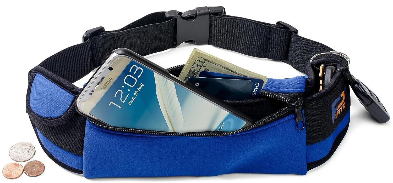 Pifito Waist Running Belt Running Belt – Blue