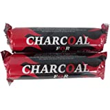 Generic Charcoal Tablets, 2 Rolls of 10 Tablets, Total 20 Tablets, Twin Pack