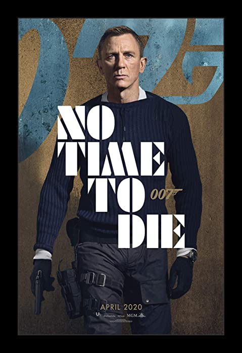 Wallspace 11x17 Framed Movie Poster - James Bond No Time to Die